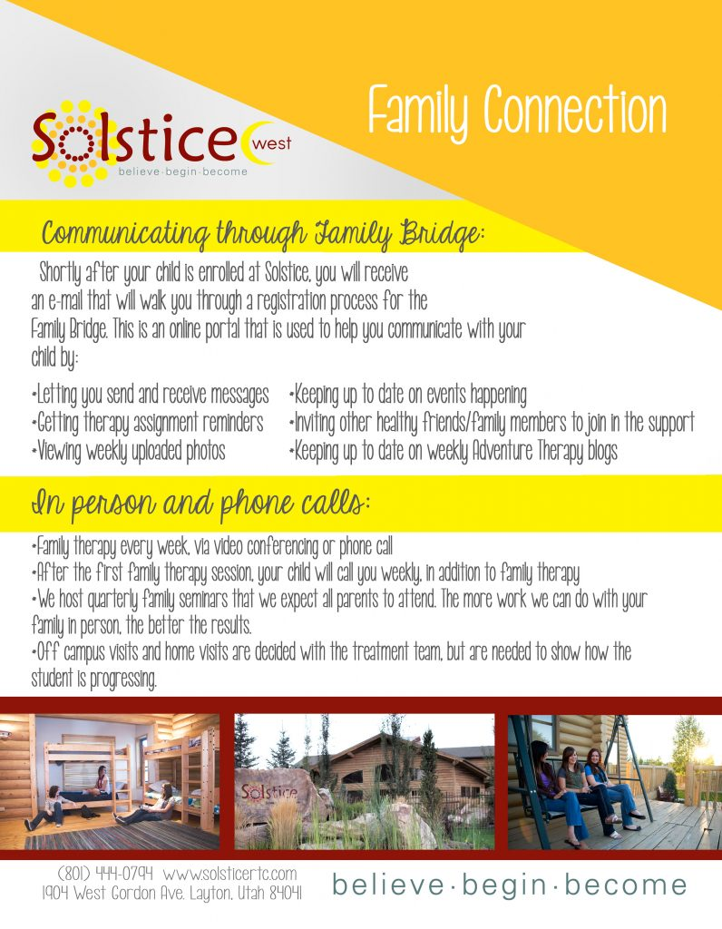 Family Connection at Solstice